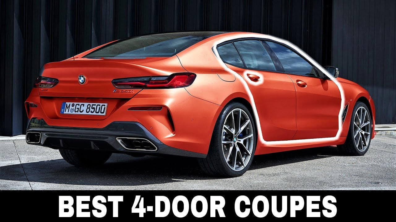 Top 9 Four Door Coupe Cars Offering Sportiness And Spacious Interiors Youtube