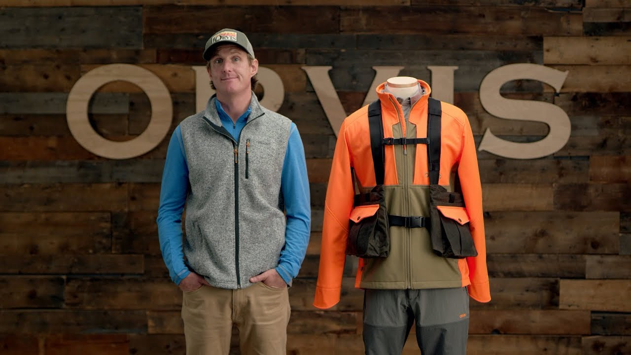 Orvis Waxed Cotton Strap Hunting Vest Youtube