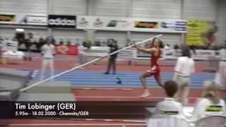 Tim Lobinger (GER) - 5.95m - 18.02.2000 - Chemnitz/GER