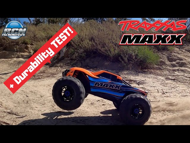 Traxxas Maxx - Box Stock on 4s - Running Video AND Durability TEST!