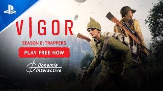 Vigor – Season 8: Trappers Trailer | PS5, PS4
