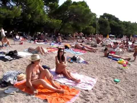 Nudist Beach Makarska