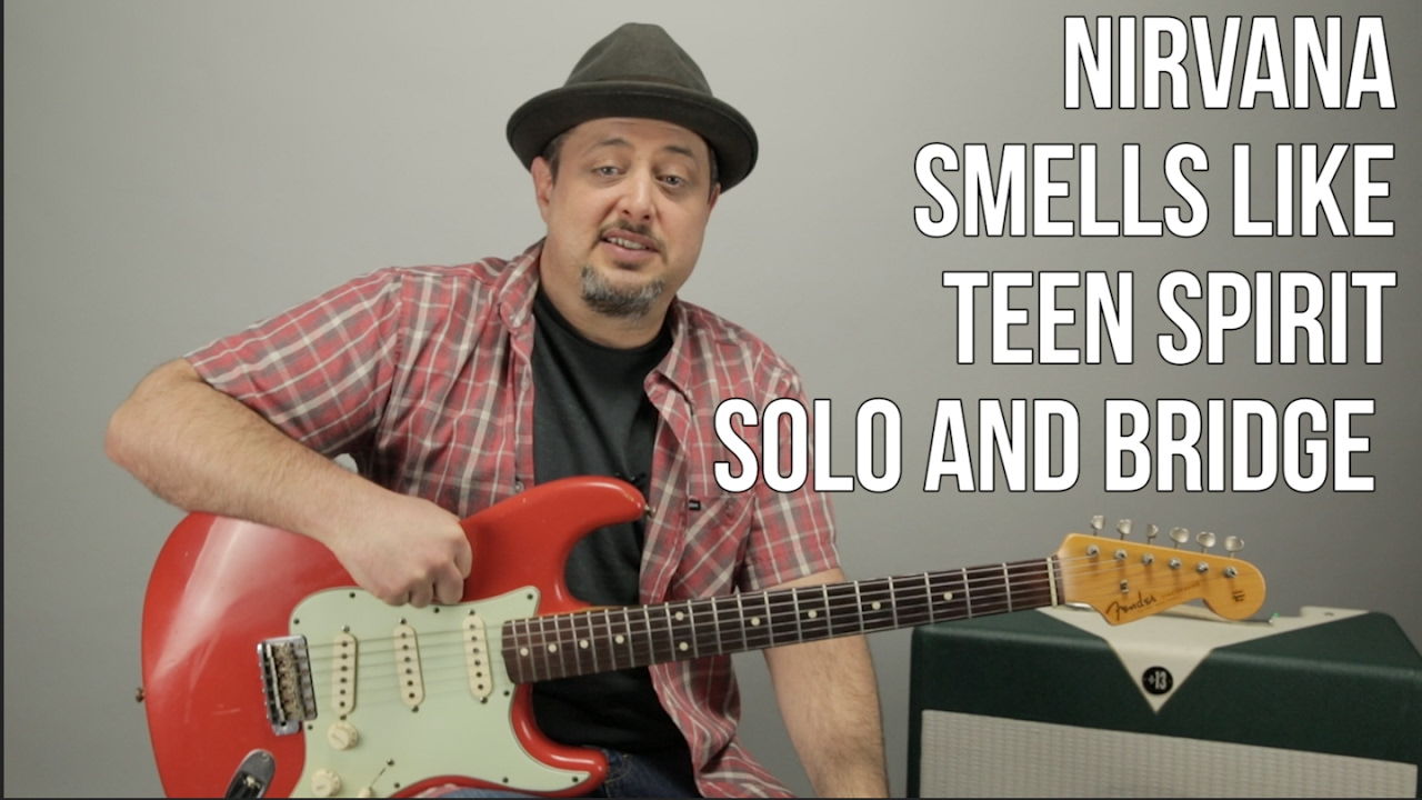 Smells Like Teen Spirit Solo Guitar