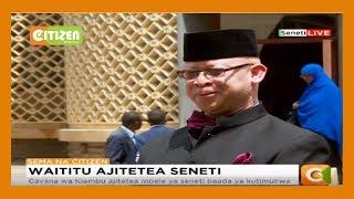 Gavana wa Kiambu ajitetea mbele ya seneti baada ya kutimuliwa