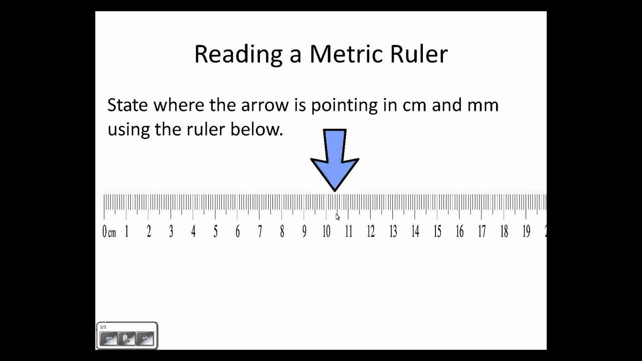 Reading A Metric Ruler Wmv