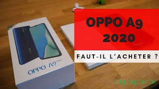 OPPO A9 2020 UNBOXING ! UN CONCURRENT POUR LE XIAOMI REDMI NOTE 8 PRO ?