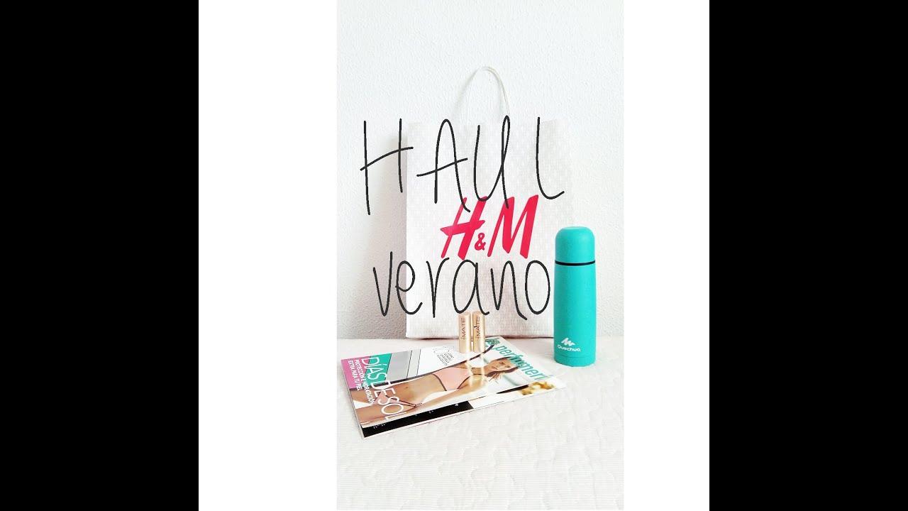 56f3d2f38 HAUL Verano ♡ REBAJAS H&M, compras Deliplus y Decathlon - YouTube
