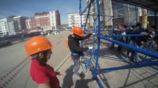 Полигон для отработки навыков при работе на высоте в Томске