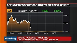 SEC Launches Probe Into Boeing Disclosures About 737 Max Troubles