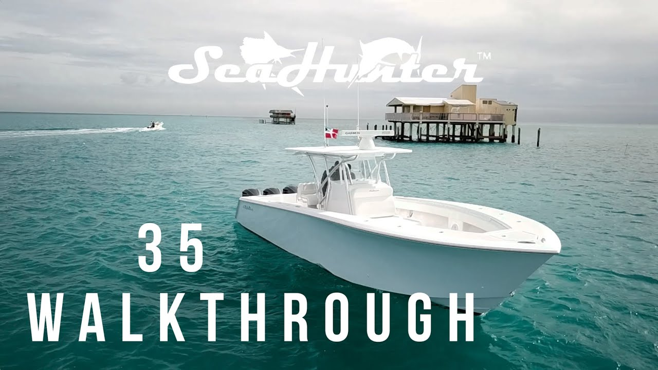 Sea Hunter Boats >> 35 Seahunter Walkthrough Seahunter Boats