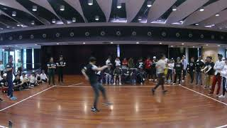 BBFDJ AUDITIONS - Hip hop don't stop Bby don't toy Funk don't punk VS 3 Bananas VS Wheres Weilieh