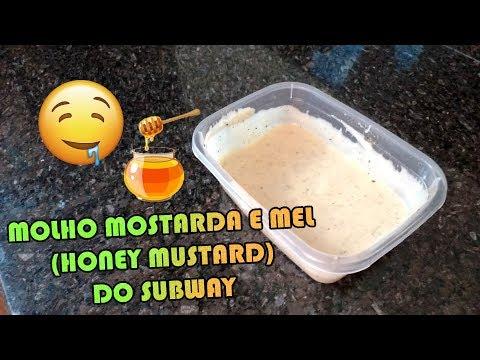 COMO FAZER MOLHO MOSTARDA E MEL HONEY MUSTARD SUBWAY | Como Fazer Fácil #RECEITAS 50