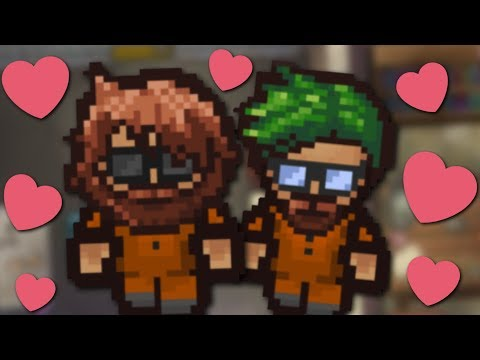 GUESS WHO MY BEST FRIEND IS! - The Escapists 2 #2