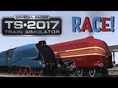 Train Simulator 2017 - Mallard V.S. Duchess Of Hamilton (RACE!)