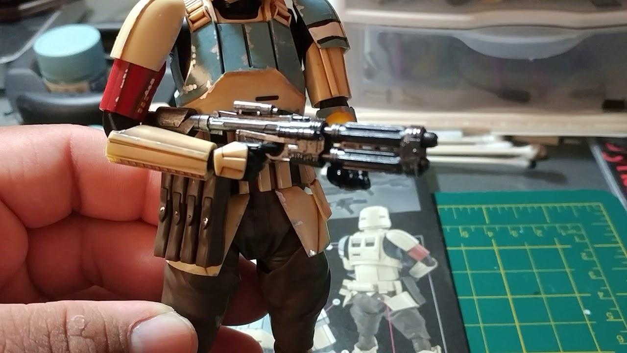 Star Wars Shore Trooper 1//12 scale plastic model