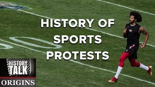 The Long View Of Sports Protests  A History Talk Podcast