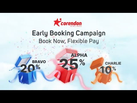 Don't Miss Out On Our Early Booking Campaign! | Corendon Airlines
