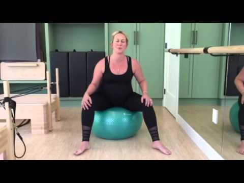 pregnant yoga ball exercises  yoga for you