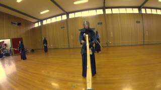 GoPro 3 Kendo - Ballarat Kendo Club final 2012 keiko