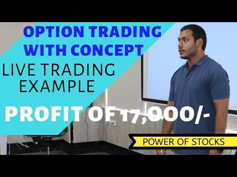 Live trading video 17k profit of trading | on options timing May-29