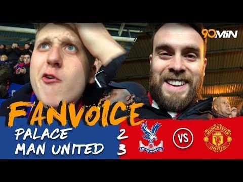 Matic's last minute goal completes United comeback! | Palace 2-3 Man United | 90min Fanvoice