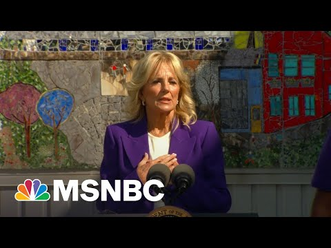 Jill Biden Praises Educators Who 'Answered The Call' During Pandemic