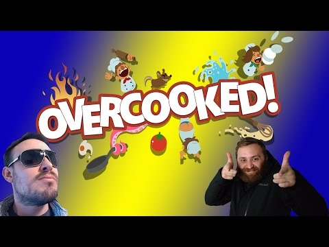 Overcooked Couch Co-op Gameplay PC