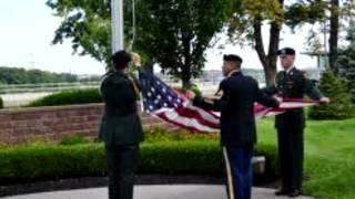 Webelos - Respect for Flag