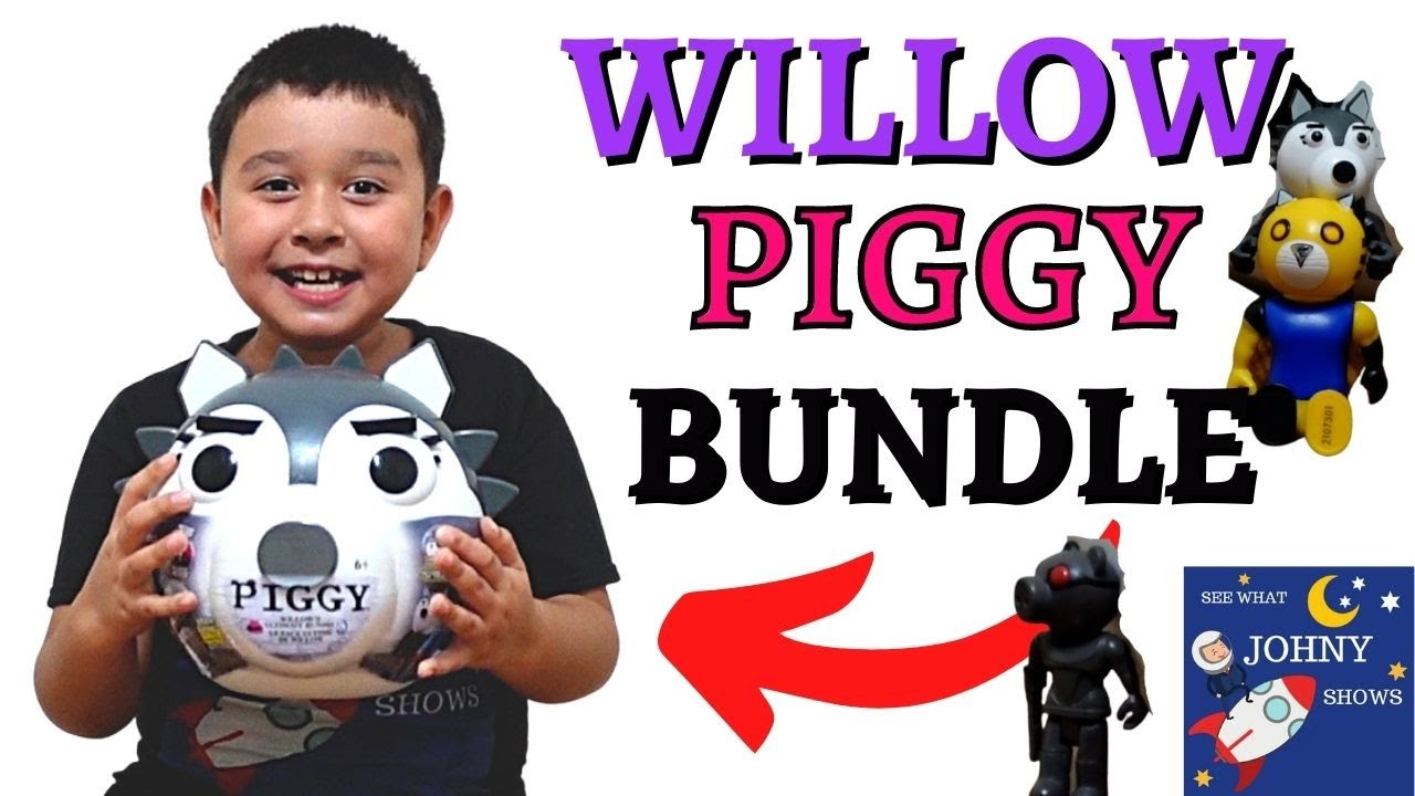 NEW Minitoon Willow Piggy Roblox Bundle Toy Set Unboxing Roblox Toys