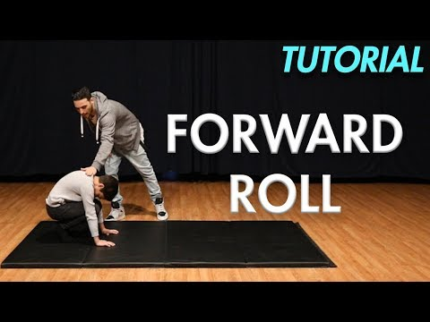 How To Do A Forward Roll (Beginner Gymnastics Tutorial) | MihranTV