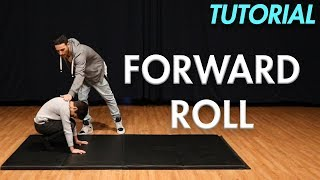 How to do a Forẁard Roll (Beginner Gymnastics Tutorial) | MihranTV