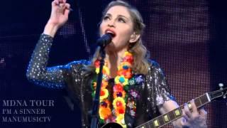 Madonna I'm A Sinner MDNA TOUR HD