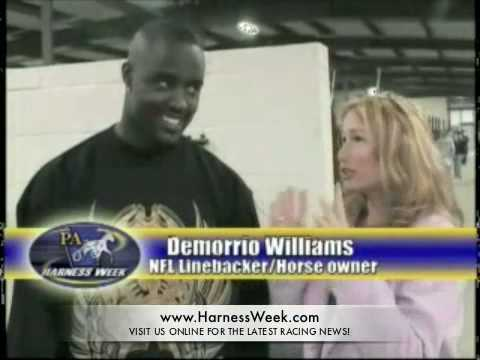 NFL Star Linebacker Demorrio Williams Loves Harness Racing