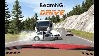 Dash Cam Crashes  20 [Real Life Sounds] - BeamNG. Drive