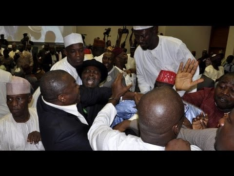 Nigerian: Nigerian Politicians trade blows in Abuja
