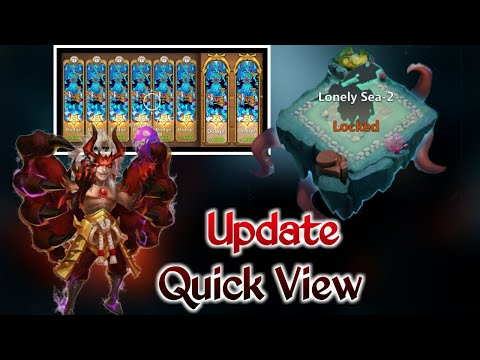 August Update | Quick View | Best Update | Wailing Rift And Lonely Sea😍😍 | Castle Clash