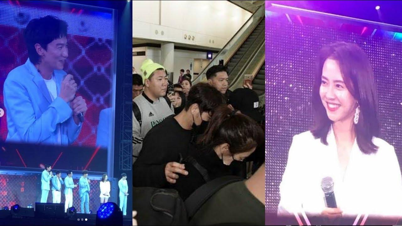 Lee Kwang Soo Wants His Parents Are Song Ji Hyo and Kim Jong Kook - Running  Man FM Hong Kong 2019