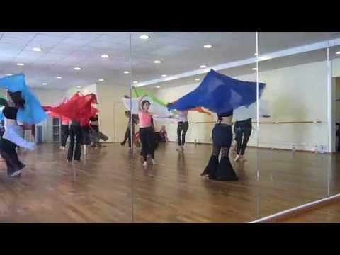Veil Workshop with Shiraz - Stage danse orientale avec le Voile