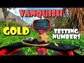 What Numbers Should You Dig? GOLD Testing Minelab Vanquish 440 Metal Detector