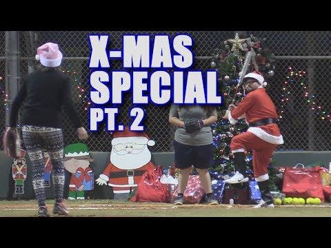 SANTA HOMERS OFF A CHRISTMAS TREE!   Offseason Softball Series   Game 6