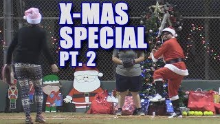 SANTA HOMERS OFF A CHRISTMAS TREE! | Offseason Softball Series | Game 6