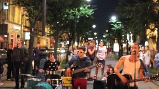 NEVSKY BAND - Районы-кварталы - (Звери cover) - Санкт Петербург - 24.08.2015