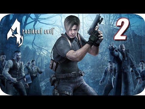 Resident Evil 4 HD - Gameplay Español - Capitulo 2 - La Mujer de Rojo