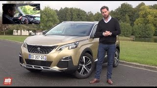 Nouveau Peugeot 3008 2017 [ESSAI VIDEO] : que vaut-il en entrée de gamme moteur ? (PureTech 130)