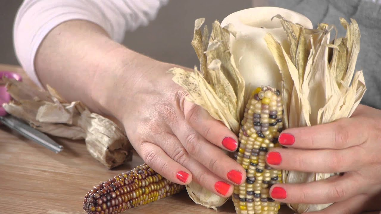 How To Decorate With Indian Corn Household Decorations