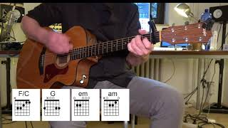 Never Gonna Give You Up - Acoustic Guitar - Vocal Track by Rick Astley