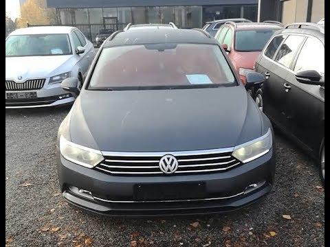 Подбор авто в Европе - Volkswagen Passat B8 1.6 TDI 2015