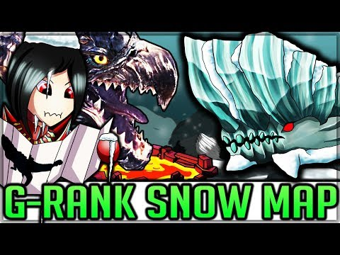 New Snow Map/New Monsters for the G-Rank Expansion - Monster Hunter World! (Theory/Discussion/Lore)