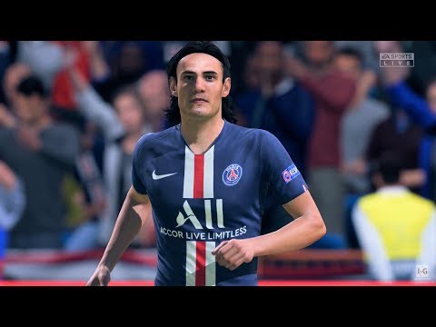 FIFA 20 - PSG Vs Real Madrid Gameplay (1080p60fps)