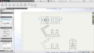 SolidWorks - Drawing Tools Tutorial | Section View